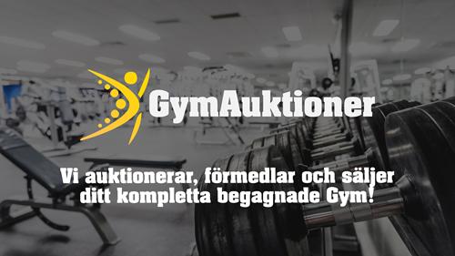 Auktionsfirma som auktionerar, förmedlar gym