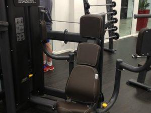 GymPartner Pec-deck Bröstmuskelmaskin