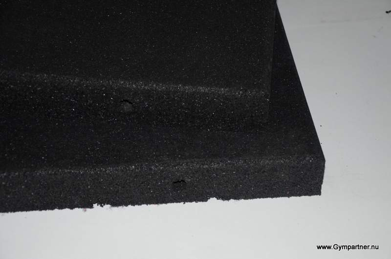 Berömda Köp helsvart golv 30 mm. 100×100 cm | GymPartner PX-66