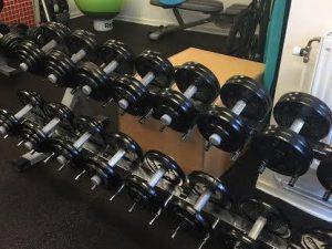 Gjutjärnshantlar 11kg-52,5kg Eleiko