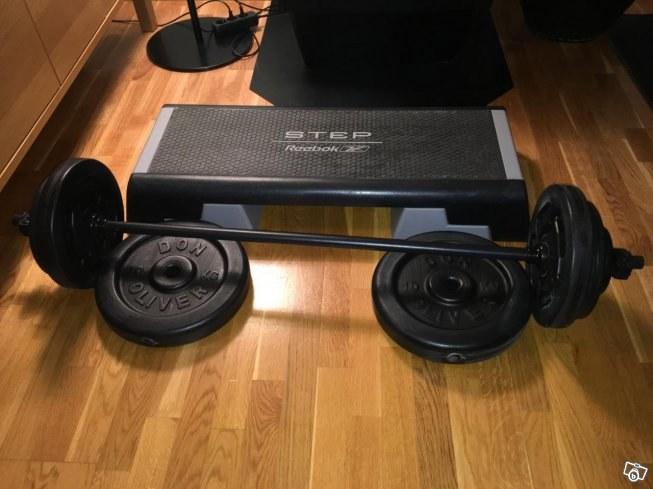 GymPartner Säljer Bodypumpset-Stepup-brädor