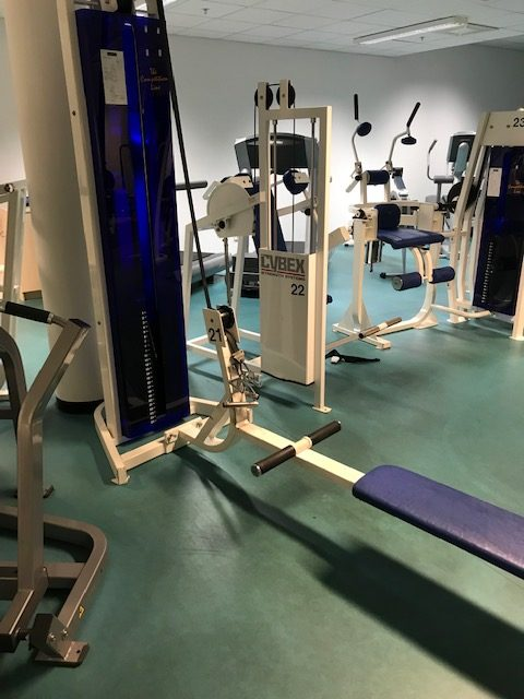 CL Fitness Seated row-Sittande rodd