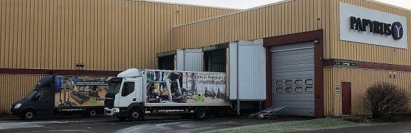 Papyrus lager hyrs av Gympartner Sweden