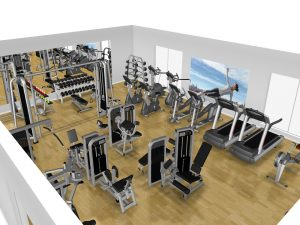Begagnat Gym Precor Komplett