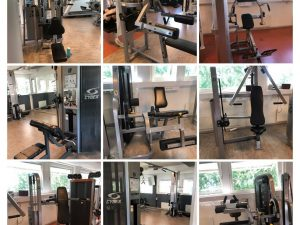 Komplett gym i hög gymkvalitet