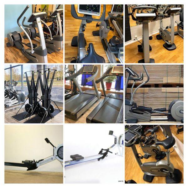 komplett gym i hög gymkvalitet och kända varumärken,
