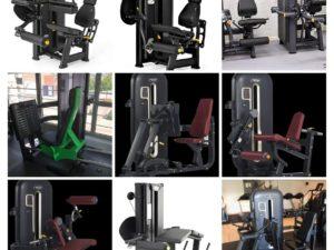 Benmaskiner Världsklass GymPartners Nya