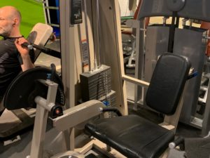 Precor Leg extension-Benspark Icarian