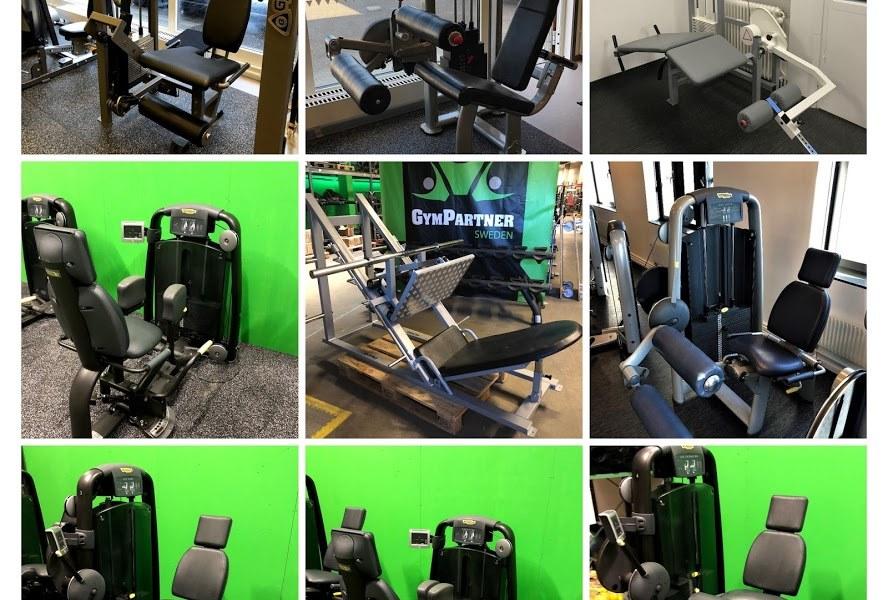 GymPartners Begagnade Benmaskiner Världsklass-40st