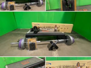Bodypump-Set GrandMaster PRO totalt 66 kg